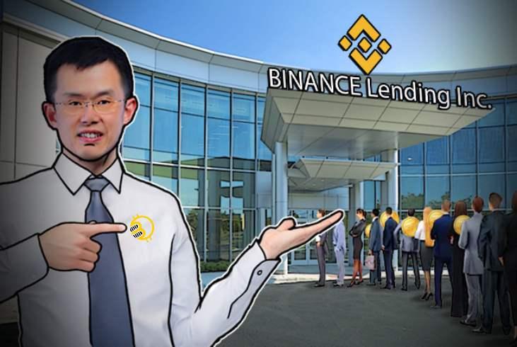 binance btc lending